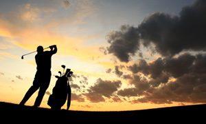 golfer-dusk